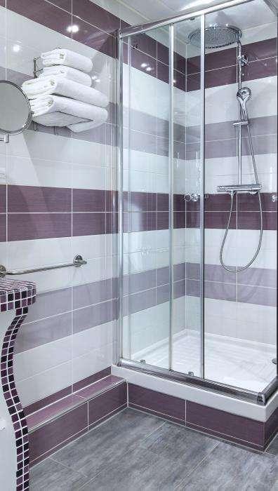 Hôtel du Plat d'Etain - Chambre salle de bain