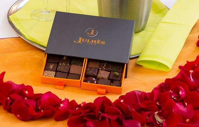 Hotel du Plat d'Etain - Coffret chocolat