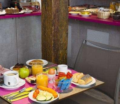 Hôtel du Plat d'Etain - Petit déjeuner